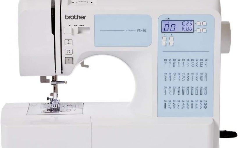 La Brother FS 40, la machine à coudre électronique pour les différents types de tissus